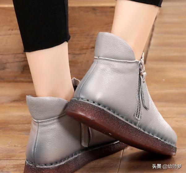 妈妈真皮软底皮鞋【多图】_价格_图片- 天猫精选