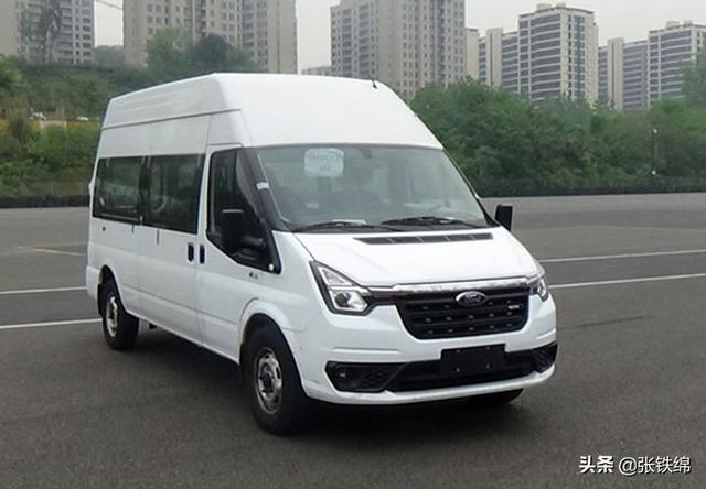 新款江铃福特新世代全顺实车曝光,搭载2.2T柴油国六动力