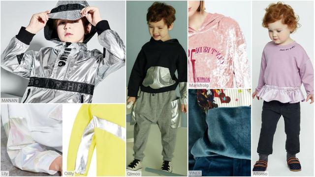 快麦设计时尚 | 20年秋冬童装卫衣面料五大流行趋势