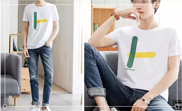 夏季男生简单帅气的搭配图片,轻松打造韩范style风格