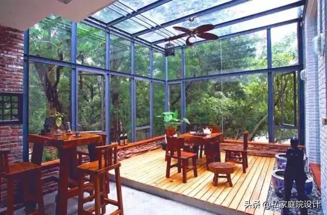 {私家庭院设计}庭院阳光房如何构思搭建,需要注意些什么?