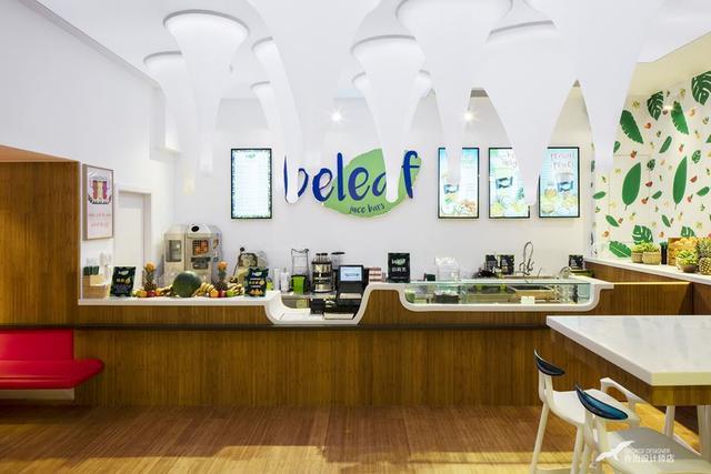 奶茶店店面装修实景图实例,想开奶茶店的朋友们可以看过来啦