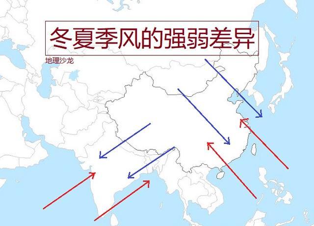 初中地理知多少:人教版七下6亚洲