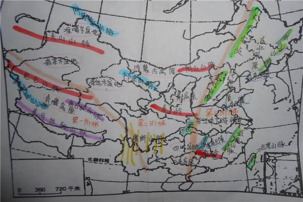 中国山脉河流图 中国山脉河流 - 豆丁网