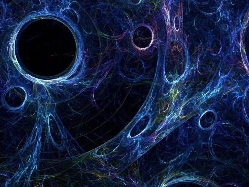 在我们实际物质组成的宇宙以外,是否还存在一个暗物质宇宙呢?