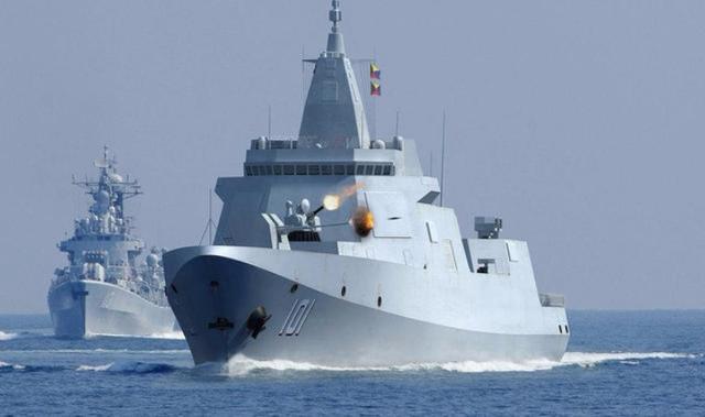 新型导弹驱逐舰图片