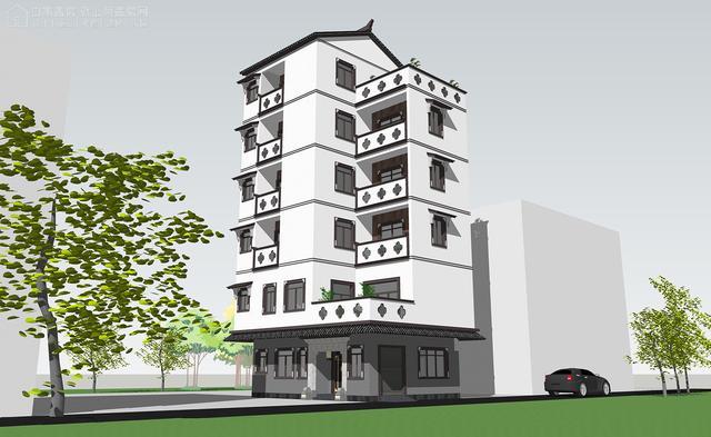六层住宅楼全套CAD建筑图纸.rar下载 久久建筑网