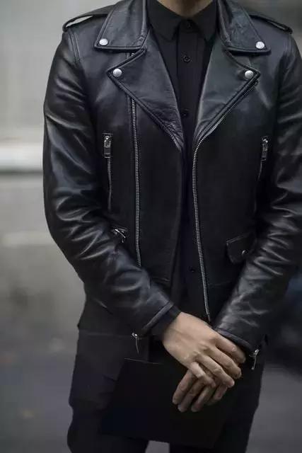 冬季男装加绒加厚机车皮衣,一件质感有型的帅气皮衣!