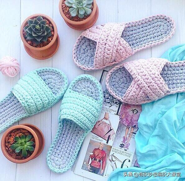 棒针毛线鞋的编织方法教程,织鞋子方法-编织乐论坛