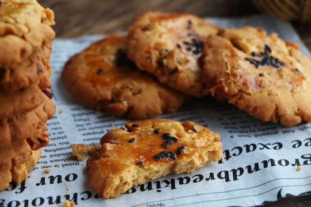 自制傳統小點心,低油低糖,酥脆又好吃,逢年過節做給家人吃