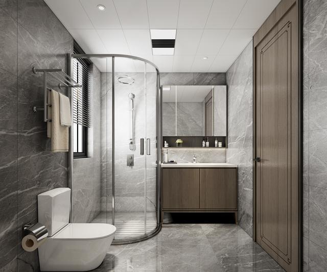 松果儿浴室黑色