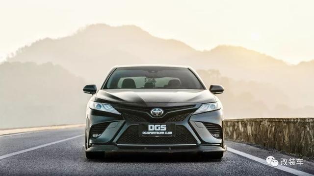 自主开发外观包围 丰田凯美瑞也能改出竞技范改装车