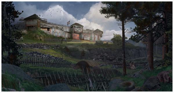 《求生之路》开发商新作《嗜血回归》首曝概念图