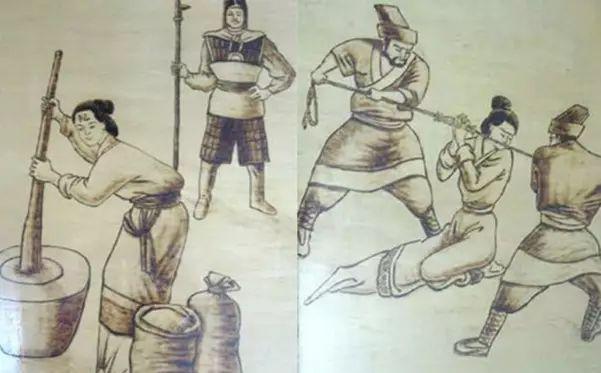 古代女子刑罚夹刑