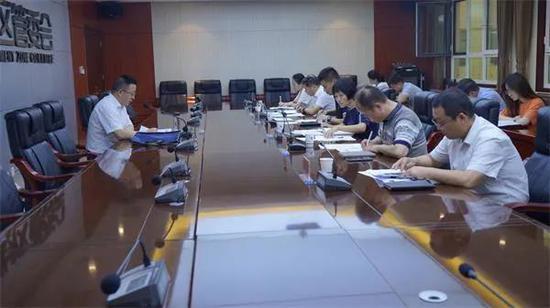 渭南经开区召开第三季度经济运行月度分析研判暨任务交办会