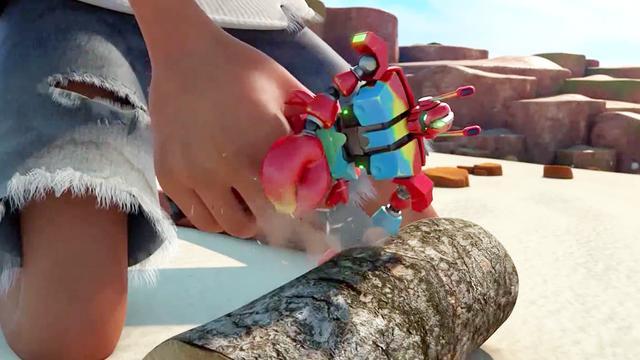 爆笑虫子:机器人功能太齐全,大叔拿来当工具_网易视频