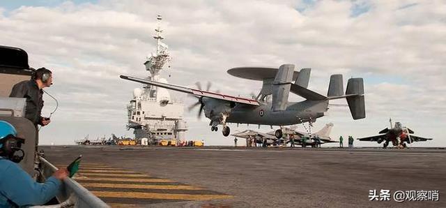 放弃高卢雄的傲慢!法国耗巨资采购美制预警机,为核航母更新装备