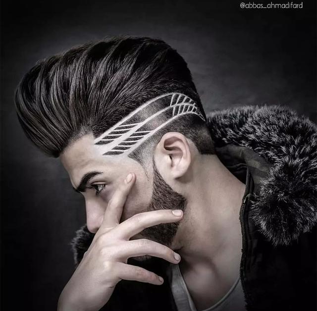 头发简单雕刻