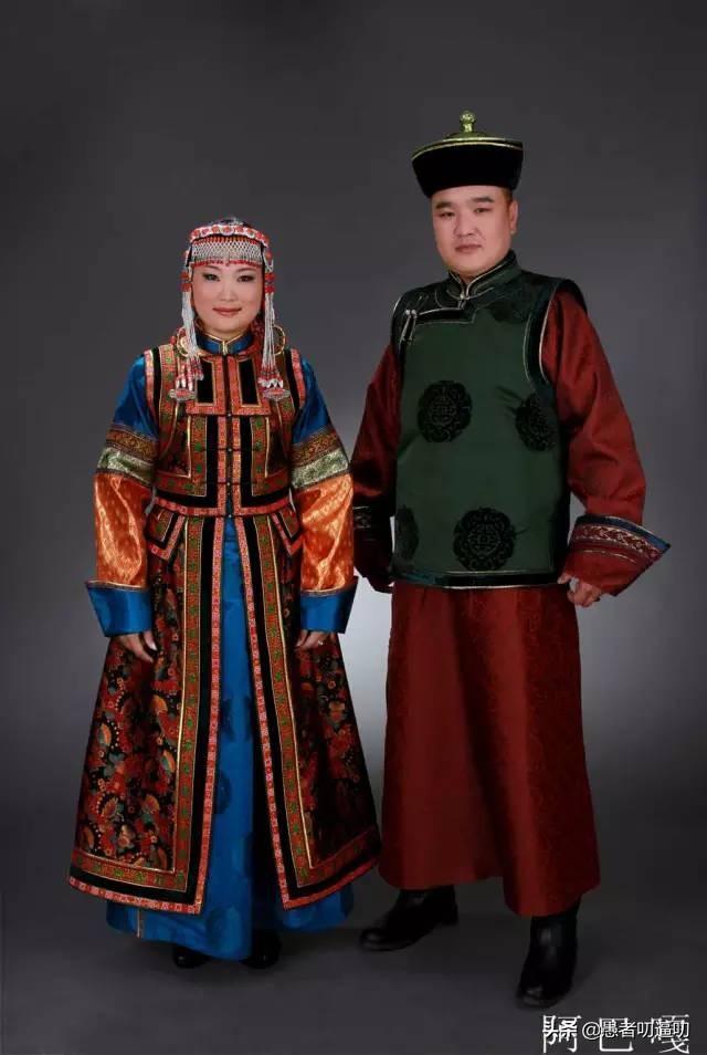 蒙古元素服装效果图