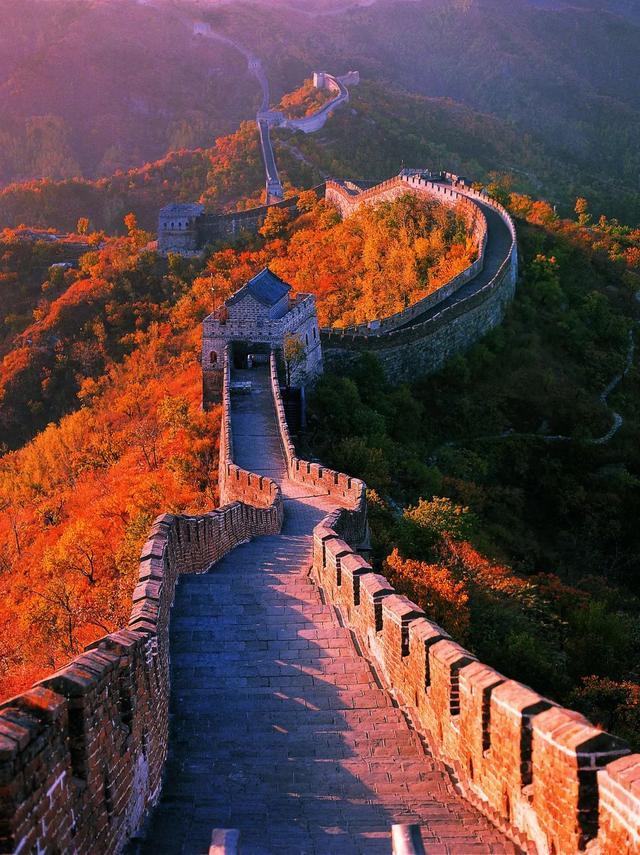 北京怀柔慕田峪长城红叶盛装来临!这个周末刚刚好!