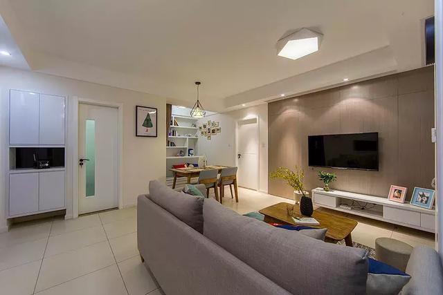 70㎡小户型家居装修设计 营造清爽舒适的家居生活空间