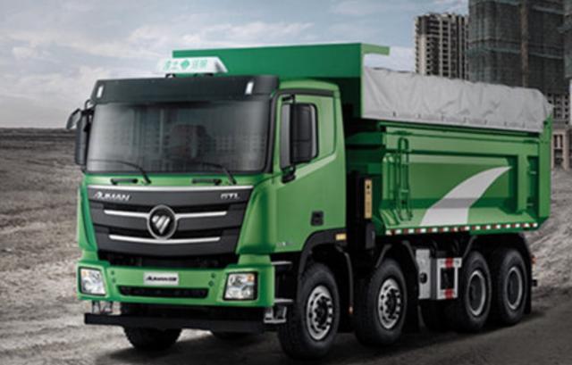 重载专家巨无霸 实拍欧曼GTL自卸车   卡车之友网