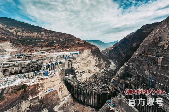 【航拍全景图】中国超级工程,白鹤滩水电站_手机搜狐网