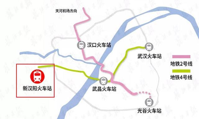 武汉所有火车站的地图