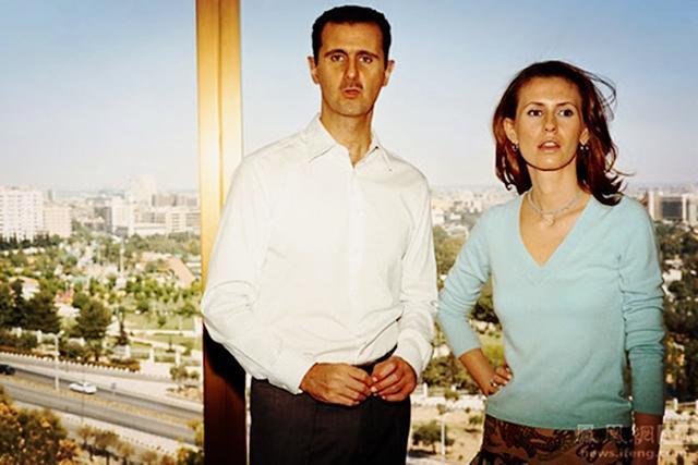 叙利亚总统儿子照片