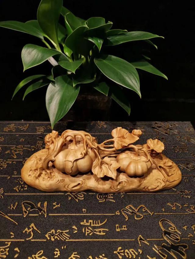 黄杨木雕件
