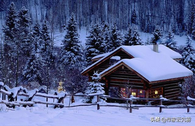 7首描写冬天的诗词,第三首惹人喜爱,最后一首脍炙人口!