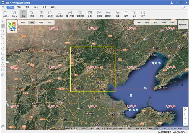 基于 QGIS 在内网中离线加载卫星地图的方法