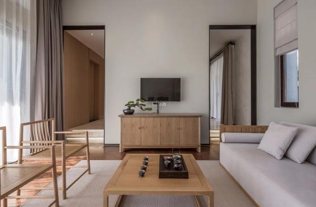 2021新中式装修客厅