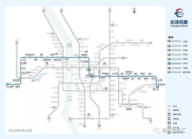 长沙全网络地铁时代来临!剩下8条地铁大盘点