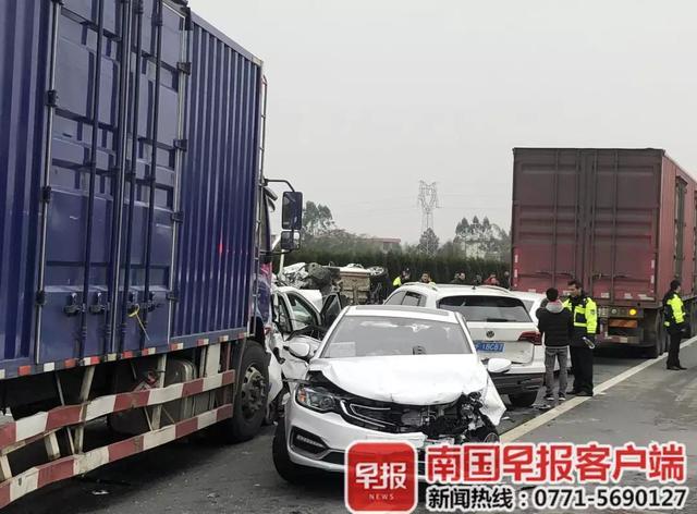 3人当场身亡!桂林高速突发惨烈车祸