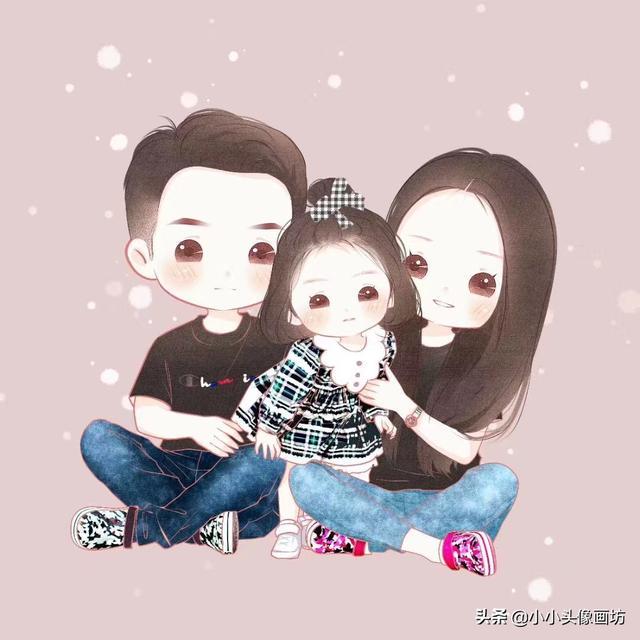 春节一家人团圆饭卡通手绘免费下载-千图网手机版