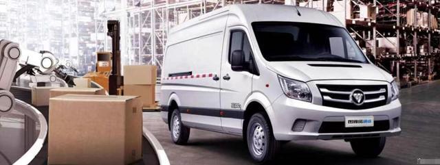 福田微型厢式货车