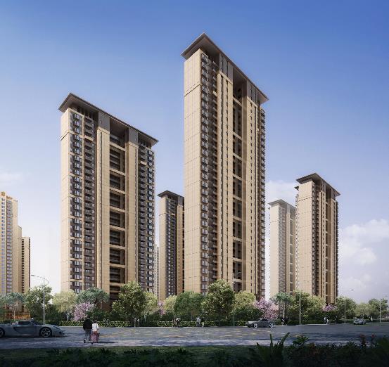 千亿级房企昆明项目进程加速,三个月后再次过规,将新增7栋高层