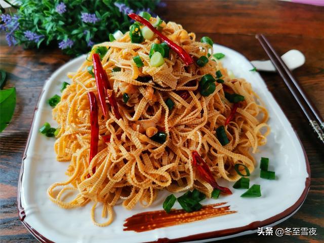青椒黄瓜花生米