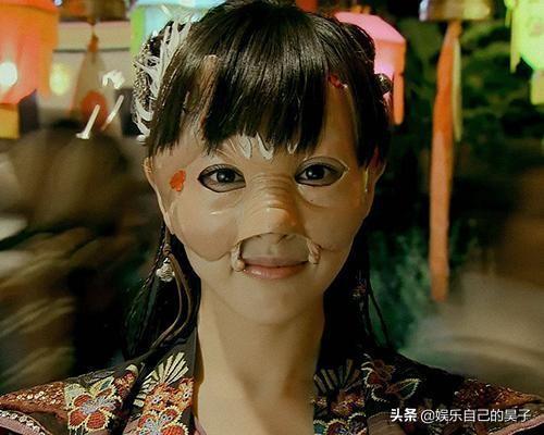 古风狐狸面具头像女