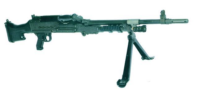 比利时FNFAL机枪