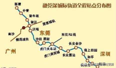 【惠州莞惠城轨线路图】穗莞深城际轨道线路图最新消息_飞扬123