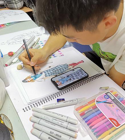 黄大仙教你画服装——马克笔服装绘制技法