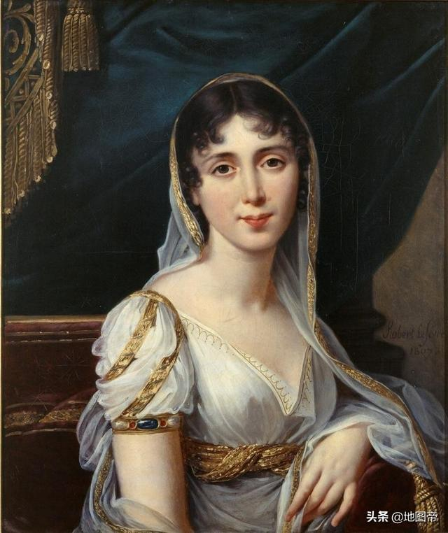 拿破仑妻子约瑟芬照片
