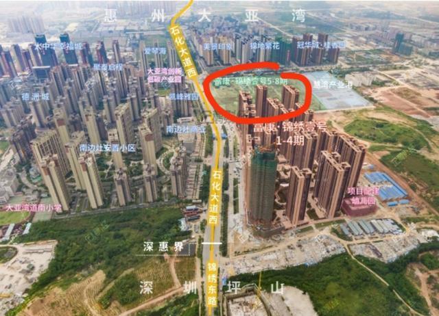 大亚湾头排标杆小区——富康.锦绣壹号五期入市价2.3万?