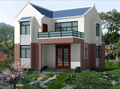 80平米农村砖混结构别墅造价多少?砖混结构别墅图纸分享