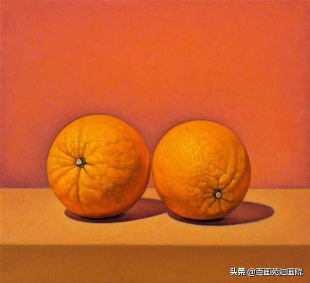水果——最简单的油画静物怎样画?