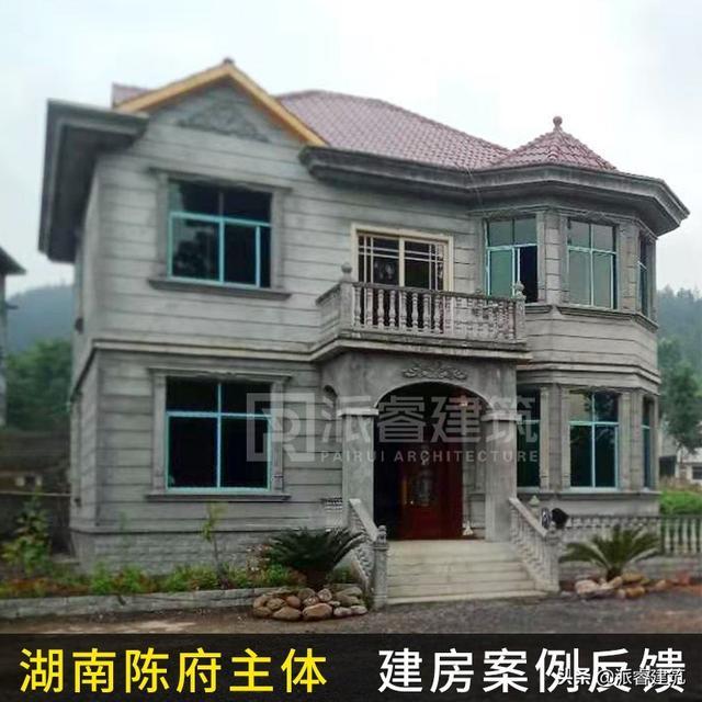 安徽韩先生,回乡建房,建出全村最美的独栋别墅