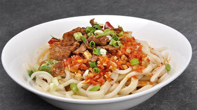 手把手教您在家做陕西的特色面食杨凌蘸水面,学会都可以开店了