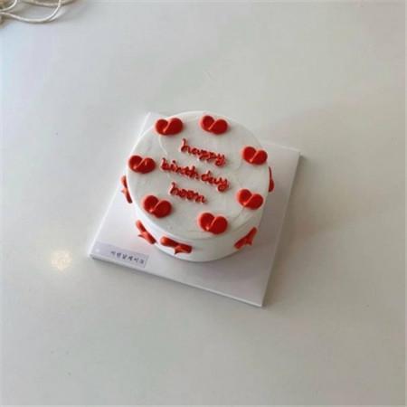 生日蛋糕图片大全夜晚
